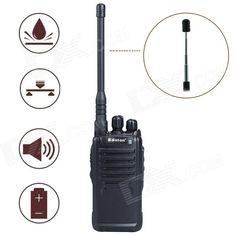 Baiston BST-3200 5W 16-CH 400~470MHz Professional Walkie Talkie w/ Flashlight, VOX - Black. . Tags: #Electrical #Tools #Walkie #Talkies