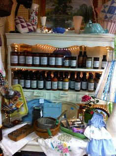 In Good Taste has wonderful yummy gifts!  At The Rusty Chandelier