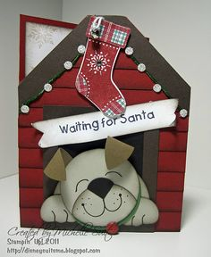 Stampin' Up! SU Faith, Trust and Pixiedust Maybe not Christmas - use for another occasion. Cute idea!