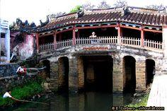 Japanese covered bridge Hoi An Vietnam
