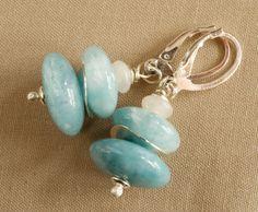 Chandelier Earrings – 925 Silver Blue Quartz Earrings -Tilia – a unique product by Tilia_ on DaWanda