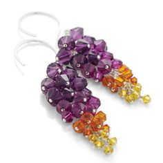 I love the colors in the Dance Till Dawn Earrings. Check out this DIY project in the Make It Sparkle 25 Dazzling Jewelry Designs Book by Lindsay Burke. FusionBeads.com