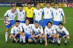 Russia team group at the 2002 World Cup Finals. 2002 World Cup, World Cup Final, Finals, Russia, Group, Sports, Hs Sports, Final Exams, Sport