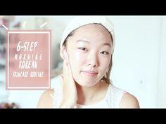 Morning Korean Skincare Routine [Updated] - YouTube