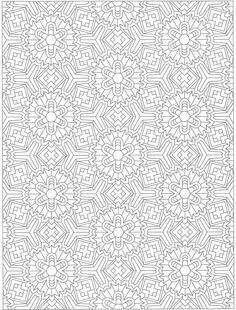 Creative Haven Tessellations coloring page Dover Coloring Pages, Quote Coloring Pages, Pattern Coloring Pages, Adult Coloring Pages, Coloring Books, Coloring Sheets, Geometric Coloring Pages, Detailed Coloring Pages, Mandala Coloring Pages
