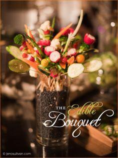 Edible Centerpiece: The Veggie Bouquet #Centerpiece