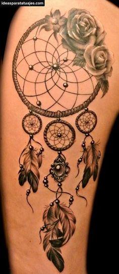 Tatuajes de atrapasueños 6