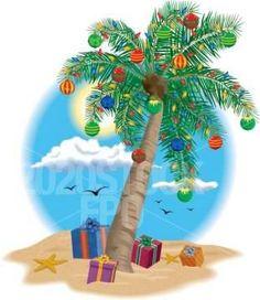 Christmas Lights On Palm Tree Christmas Palm Tree Nautical Christmas Tropical Christmas Christmas