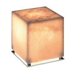 EDUARDO SOUTO DE MOURA  ICE Table lamp with a body of Estremoz white marble. Base in polished aluminium. LED version with a 700mA power supply included. For further information please click here