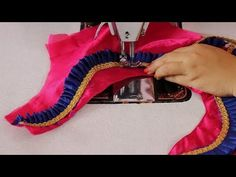 How to Cut and Stitch Simple Model Blouse Design Latest Blouse Neck Designs, Simple Blouse Designs, Simple Designs, Hand Designs, Pattu Saree Blouse Designs, Blouse Designs Silk, Patch Work Blouse Designs, Colorful Rangoli Designs, Blouse Models