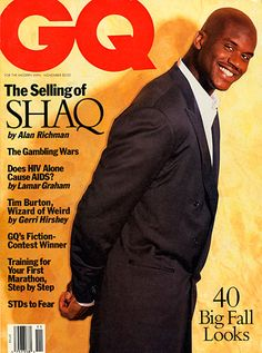 The Top 20 African-American Iconic Covers of GQ - Live Civil Sports Magazine Covers, Magazine Cover Design, Star Trek Posters, African American Literature, First Marathon, Celebrity Magazines, Gq Men, Gq Style, Shaquille O'neal