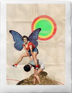 Alluring Retro Collages  These Prints by Sabrina Tibourtine are the Perfect Match for Every Wall #collages #art #retro