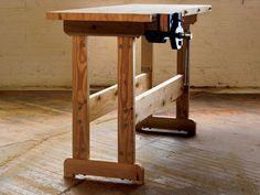 How to Build a Workbench: Simple DIY Woodworking Project - Popular Mechanics