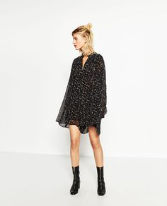 Image 2 of SHORT JUMPSUIT WITH FULL SLEEVES from Zara