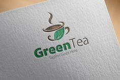 Check out Green Tea Logo by samedia on Creative Market