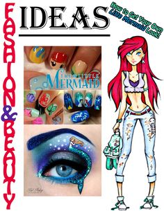 Fairy Tale Magazine: August 2014 Edition Ariel gives some fashion ideas #ariel #littlemermaid #fairytalemagazine #fashionideas #forgirls