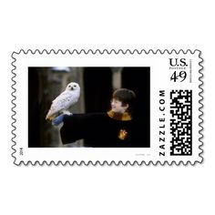 I love this Harry Potter stamp! Hedwig was such a sweet, if sometimes grumpy, character.