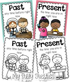 Past and Present Mini Unit! Perfect for teaching your kiddos how life has changed over the years!