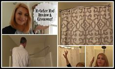 Rotator Shower Rod: Open Box, Demo, Review & Giveaway