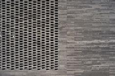 Image 3 of 23 from gallery of Baeken Woensel-West / Bas Termeer. Photograph by Martijn Koch Brick Architecture, Architecture Details, Interior Architecture, Stair Walls, Stairs, Brick Masonry, Brick Detail, Brickwork, Architect Design