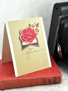 Always & Forever Card by Dawn McVey for Papertrey Ink (July 2012)