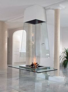 20 Contemporary Fireplace Ideas [World_of_architecture]
