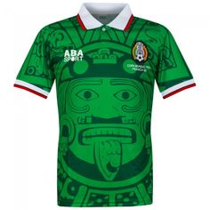 171c305ce19cb Camiseta retro de México 1998 Local  mexico  retro  shirt  football  futbol