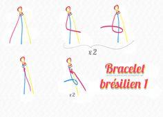 friendship bracelet DIY bracelet brésilien