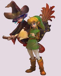 The legend of Zelda CHICO HADA