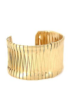 KENNETH COLE NEW YOR...  gold cuff | More here: http://mylusciouslife.com/wishlist-gold-cuffs/