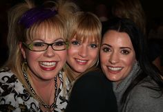 """CRIMINAL MINDS   (L-R) Actresses Kirsten Vangsness, A. J. Cook and Paget Brewster attend the 100th episode celebration for the television show """"Criminal Minds"""" on October 19, 2009 in Los Angeles, California."""