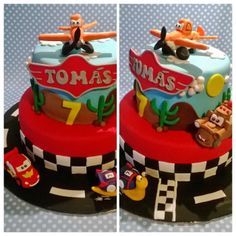 Disney cake - Planes, Cars & Turbo