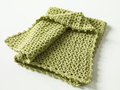 Little V-Stitch Blanket. Just finished this for someone's baby boy. Used a sage green soft yarn. Easy and fast.