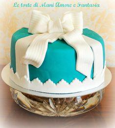 Una tiffany cake per una mamma chic!