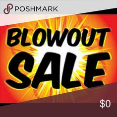 Year's End Blowout Sale !!!! Let's end 2016 with a bang !!!! Like the item but not the price , make me an offer !!! I'm ready to Clear out My Closet !!!! Other