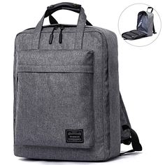 511fb460a6d25 Travel Canvas Backpack Causal Daypack Laptop Backpack Basics Children  School Backpack fit 15.6  Tablet
