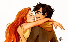 Harry & Ginny <3 <3