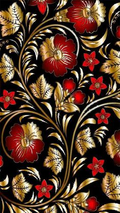 New Art Deco Pattern Floral Beautiful Ideas Color Wallpaper Iphone, Flowery Wallpaper, Apple Logo Wallpaper, Flower Phone Wallpaper, Gold Wallpaper, Butterfly Wallpaper, Cellphone Wallpaper, Colorful Wallpaper, Pattern Wallpaper