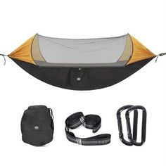 Sleeping Bags Sports & Entertainment United High Strength Parachute Nylon Fabric Camping Single Parachute Hammock With Strong Rope For Camping Hiking Travel For Improving Blood Circulation
