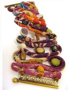 Inspiration: Kimono Crepe Cording Bracelet