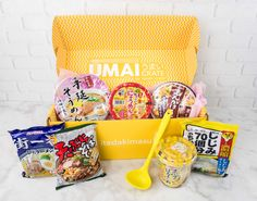 Check out the June 2017 review of Umai Crate, a subscription box featuring Japanese style noodles + bonus item each month!   Umai Crate June 2017 Subscription Box Review + Coupon →  https://hellosubscription.com/2017/06/umai-crate-june-2017-subscription-box-review-coupon/ #UmaiCrate  #subscriptionbox