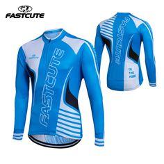 2017 autumn thin long breathable team katusha cycling jerseys three pockets racing cloth MTB Ropa Ciclismo Bicycle maillot #Affiliate