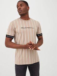 Kings Will Dream Kings Will Dream Clifton Tee, Sand, Size Trouser Jeans, Trouser Suits, Trousers, Formal Shirts, Basic Style, Tie Knots, Fitness Models, Kids Fashion, Suit Jacket