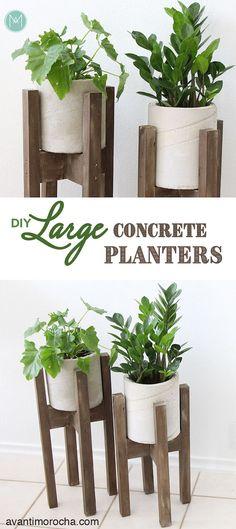 DIY Large Concrete P