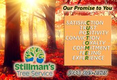 Stillman's Customer Service promise