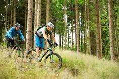 Im ROBINSON Club Ampflwang können sich Mountainbiker austoben