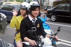 """Song Ji-hyo and Chen Bolin Go for a Spin Around Taiwan for """"We Are in Love"""""""