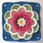 Transcendent Crochet a Solid Granny Square Ideas. Inconceivable Crochet a Solid Granny Square Ideas. Motifs Granny Square, Crochet Motifs, Granny Square Crochet Pattern, Crochet Flower Patterns, Crochet Squares, Crochet Designs, Crochet Flowers, Crochet Stitches, Free Crochet