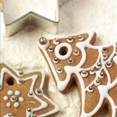 Old-fashioned Gingerbread Cookies - Piparkakut Margarita, Gingerbread Cookies, Gourmet Recipes, Cookie Cutters, Sweet Tooth, Spices, Baking, Christmas, Xmas