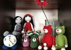 La família Amigurumi! // La familia Amigurumi! // The family Amigurumi!  by Ginesika Creacions